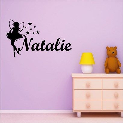 Fairy Name Wall Art from Next Wall Stickers