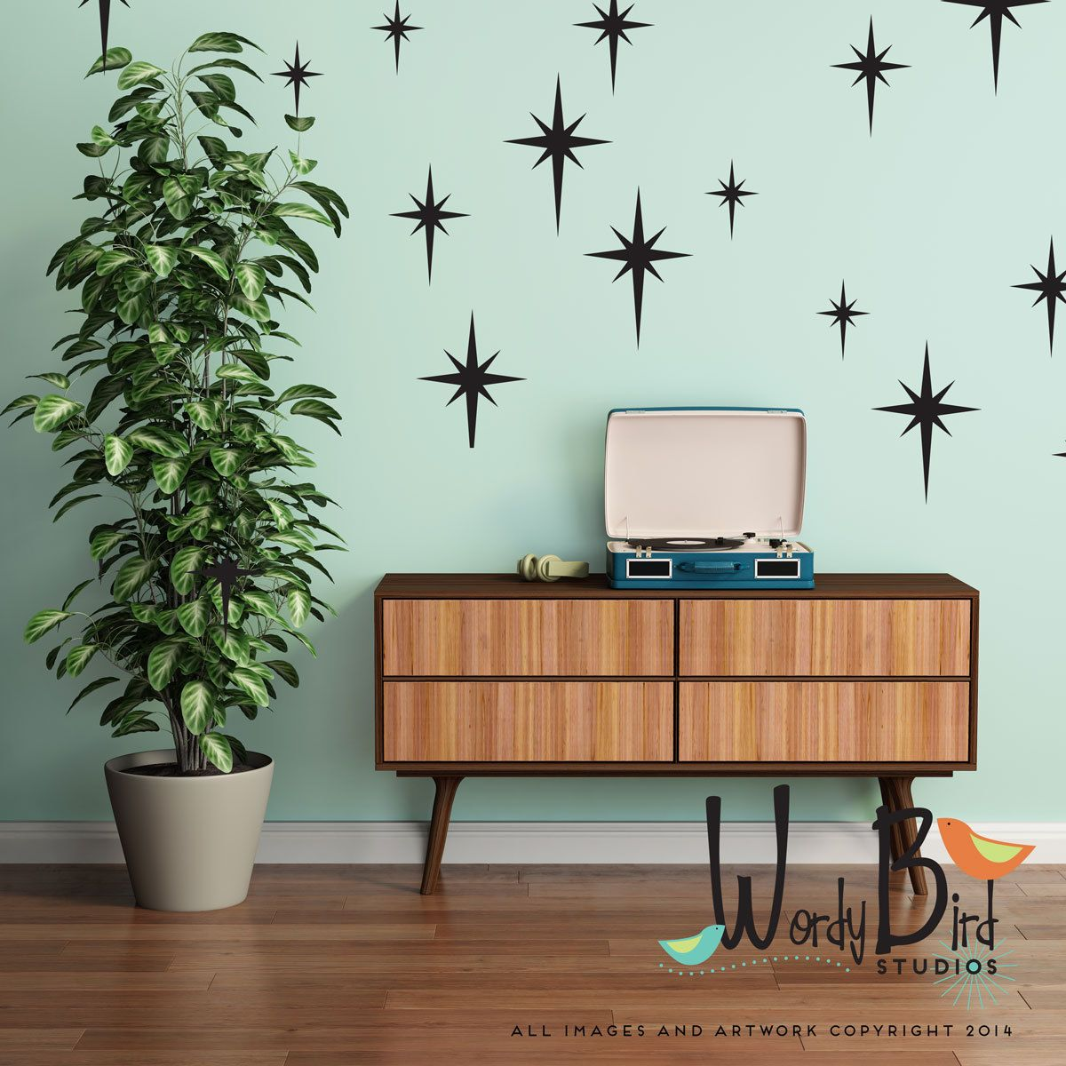 to paint home ideas decor bedroom charter wall silver a how with starburst