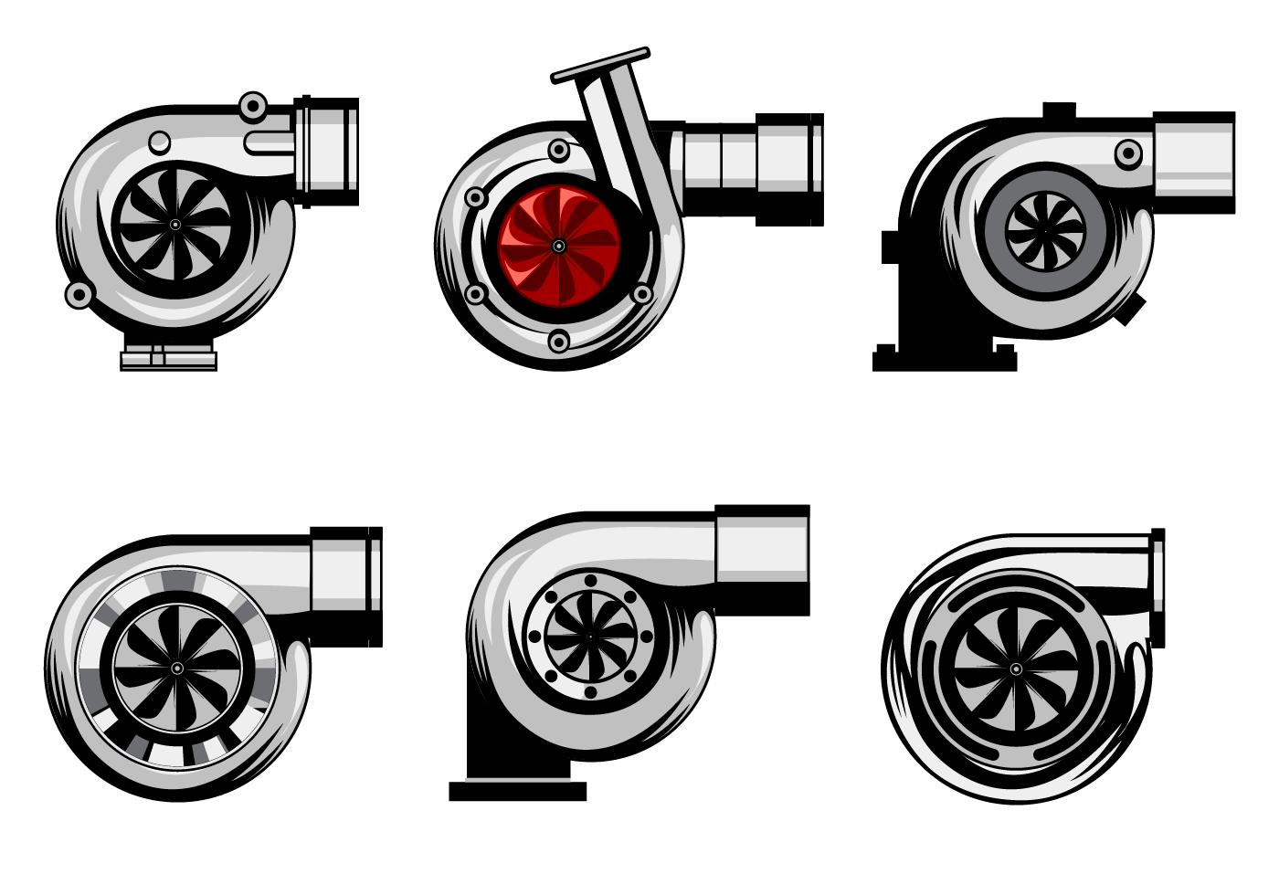 Free Turbocharger Vector Automotive art, Vector art, Rat