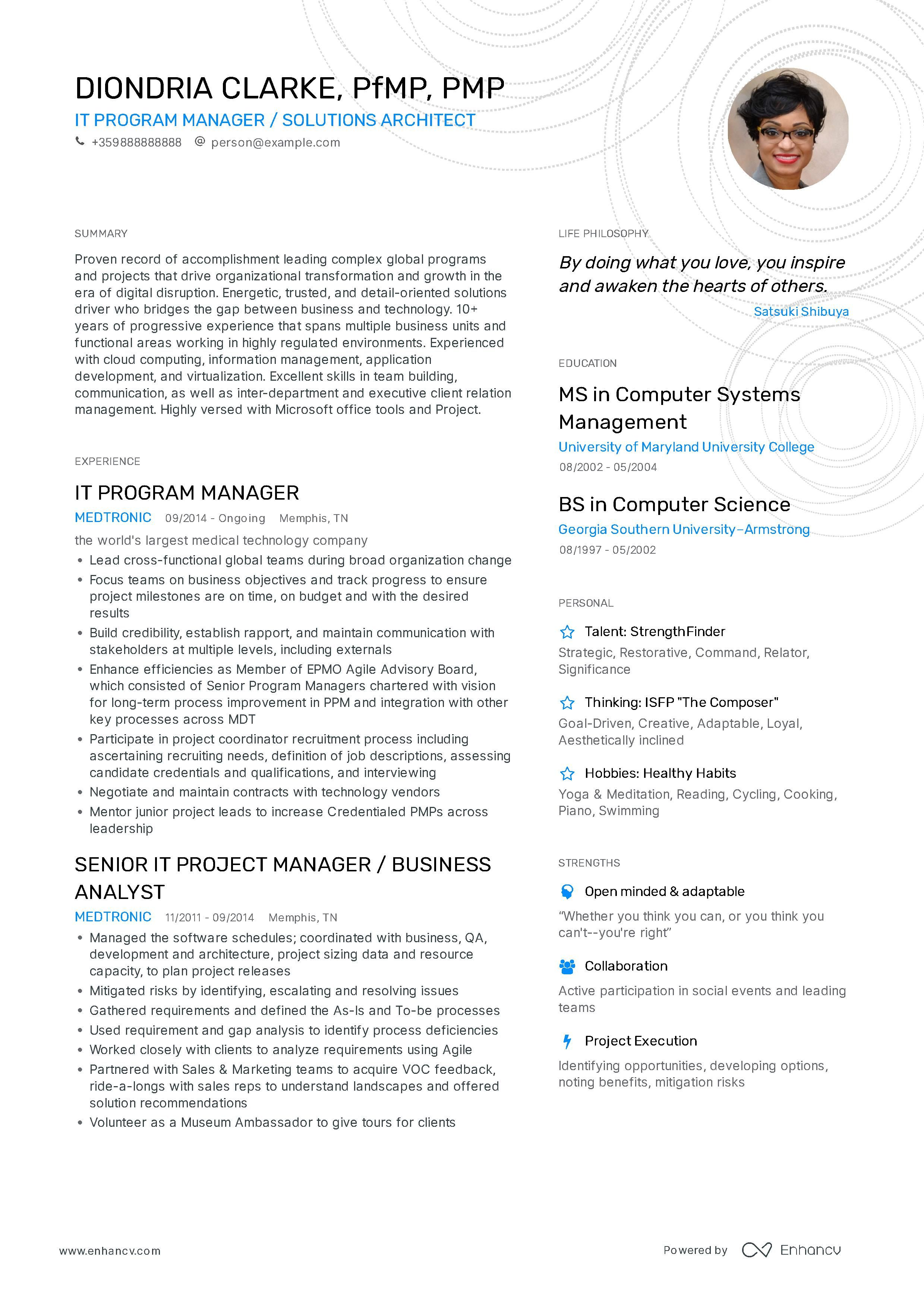 Program Manager Resume Example And Guide For 2019 Resume Examples Programme Manager Manager Resume