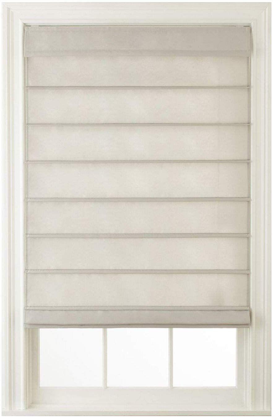 Amazonsmile Window Blind Store Cordless Hanna Roman Shade Ivory