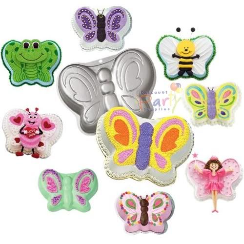 Wilton Butterfly Cake Pan Wilton 1 Butterfly Birthday Party Cake
