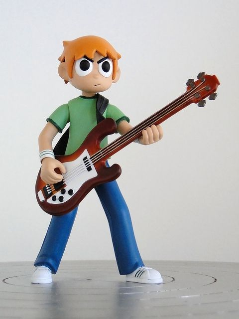 "Mezco 6"" Scott Pilgrim vs. The World figure"