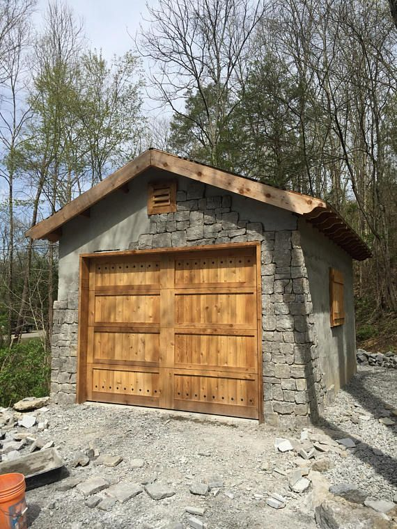 Beautiful Solid Cedar Garage Doors In 2020 Cedar Garage Door Garage Door Design Wooden Garage Doors