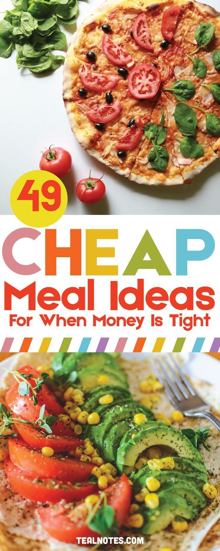 49 Cheap Dinner Ideas To Stay Within Your Meal Budget— Quick And Easy Dinner Recipes images
