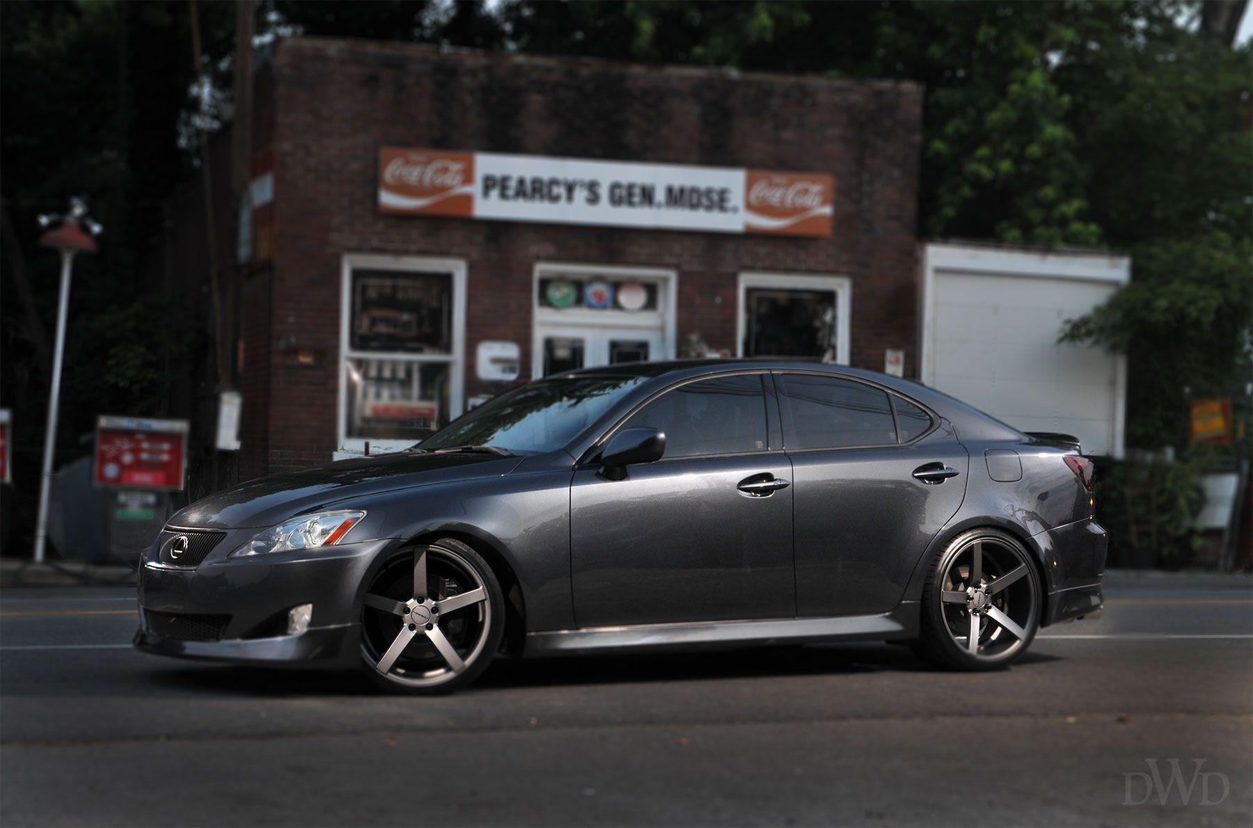 Vossen Wheels presents Lexus IS 350 on custom wheels  YOU WILL BE