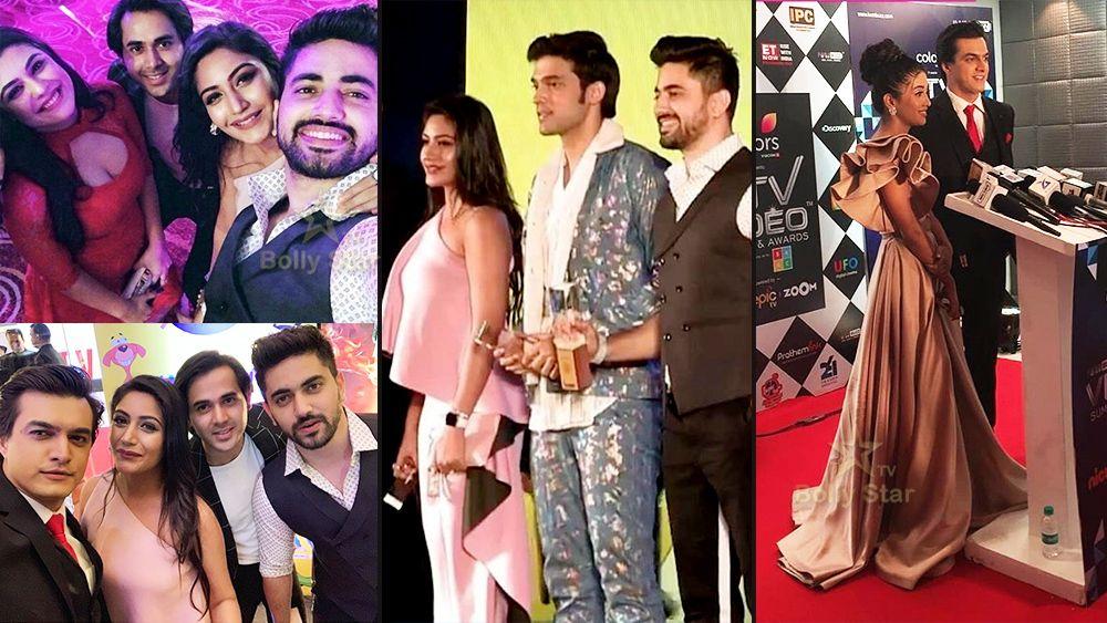 Tv stars Parth Samthaan, Surbhi Chandna, Shivangi Joshi and