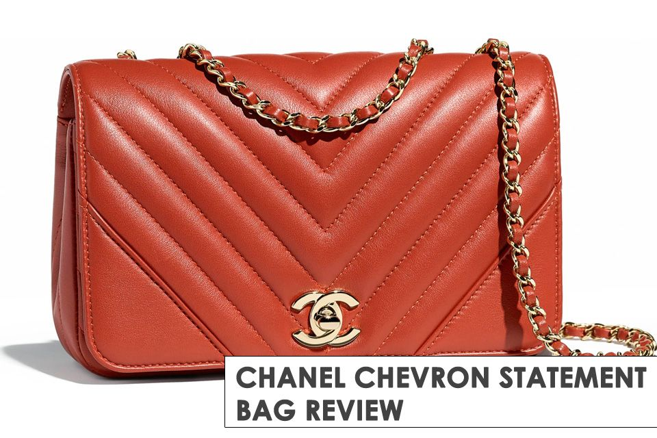 2102de17ae62 Chanel Chevron Statement Bag Post Updated Due To New Sizes, Prices, Read  more here.