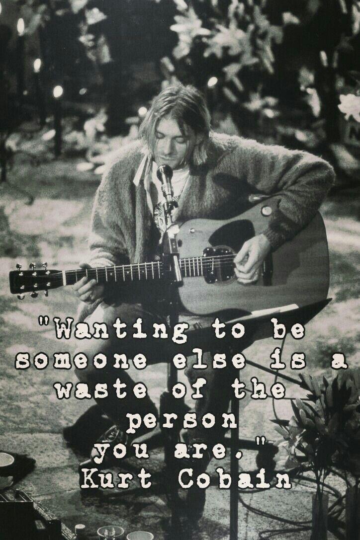 Kurt Cobain. Nirvana.