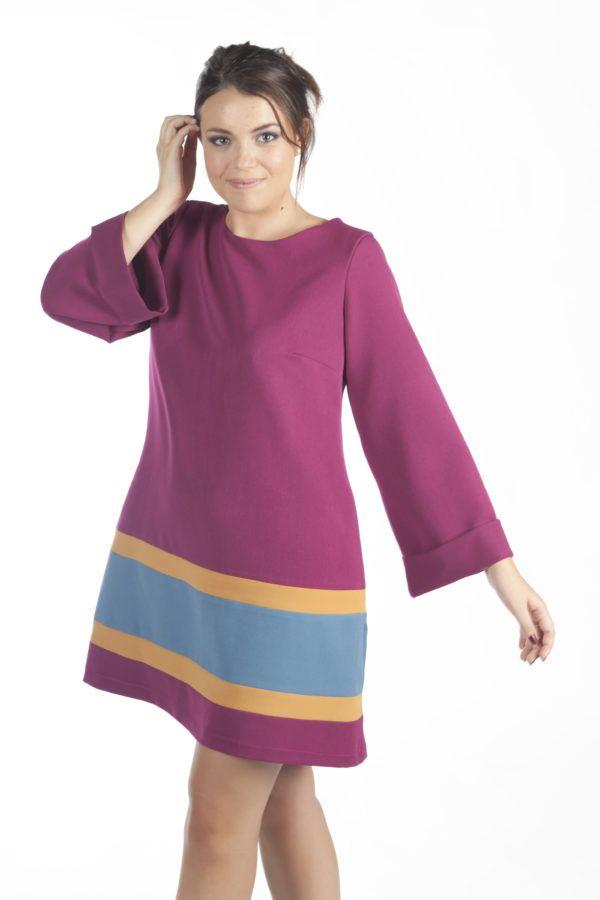 Vestido Telma Bugambilia de Popisima | Popisima | Pinterest | Color ...