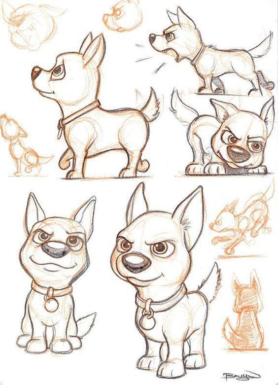 Bolt O Supercao Coisas Para Desenhar Ideias Esboco E Desenhos