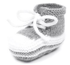 Stricken für den Nachwuchsfan: Babyturnschuhe | Babyschuhe