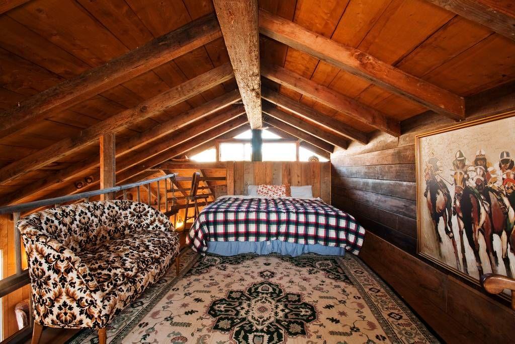 The upstairs loft Bunk house, Upstairs loft, House