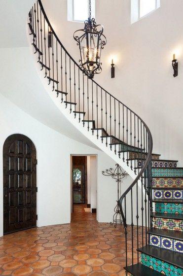 Modelos de escaleras y barandas hierro barandillas de - Escaleras de hierro forjado ...