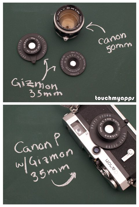 TouchMyApps   Gizmon iCa iPhone camera case in Review – Barnack would be proud