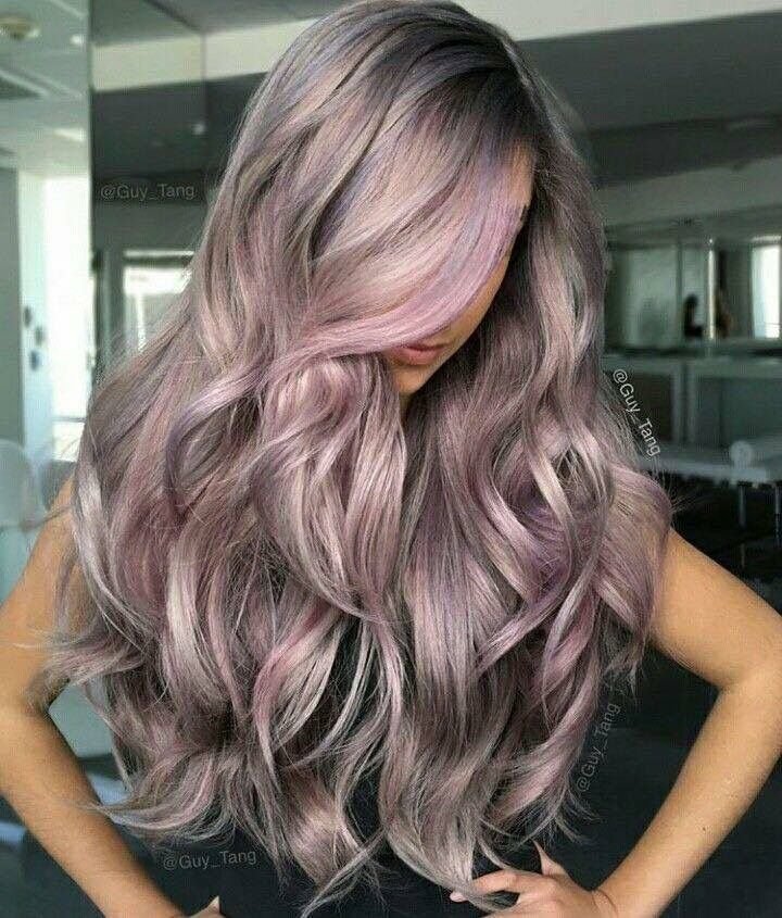 Pin by Bamby CK 🇮🇹🇩🇿 on Hair : Metalic Color | Pinterest