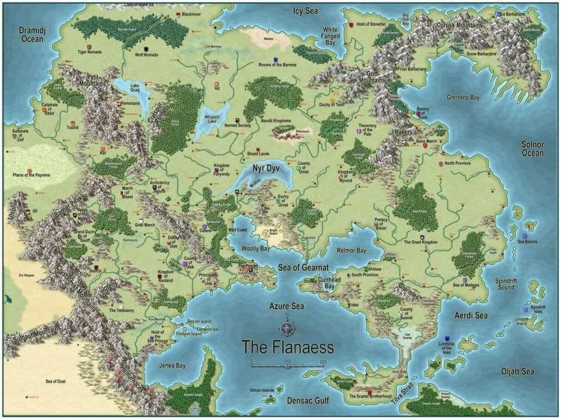 Fantasy Life World Map.Pin By John Owen On Maps In 2019 Fantasy Map Fantasy World Map