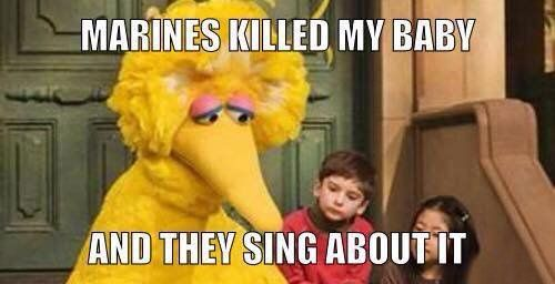 Little Yellow Birdy Military Humor Marines Funny Marine Corps