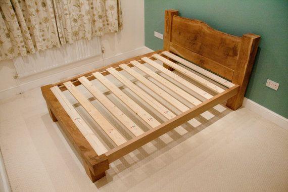 Oak Beam Bed Frame Solid Oak Framing Beams Oak Wooden Bed