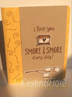 lawn fawn love you s'more - Google Search
