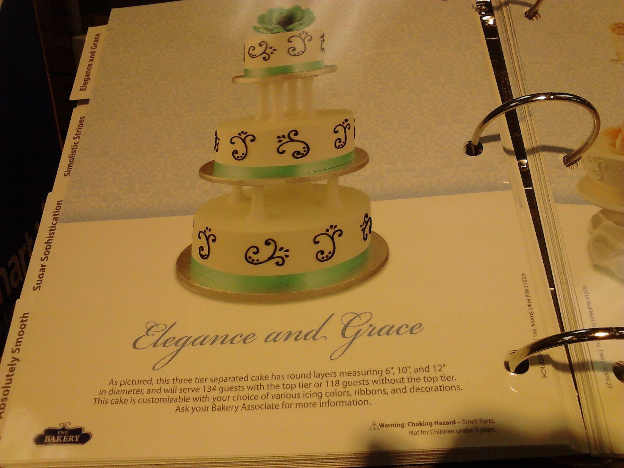 Wal Mart cake book spring 2014 | Walmart wedding cakes | Pinterest ...