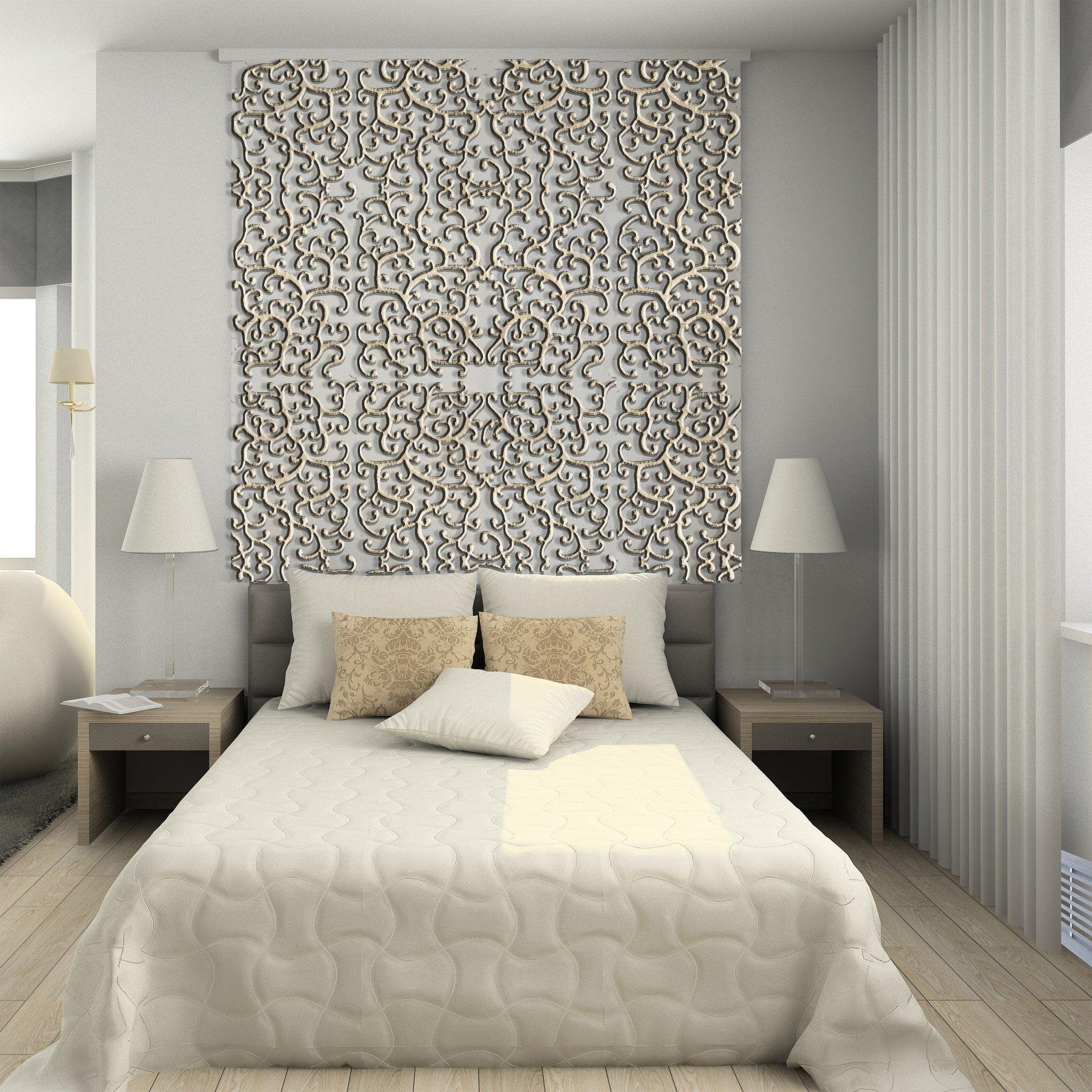 Divider Modern Interior 3d Render Amazing Decorative
