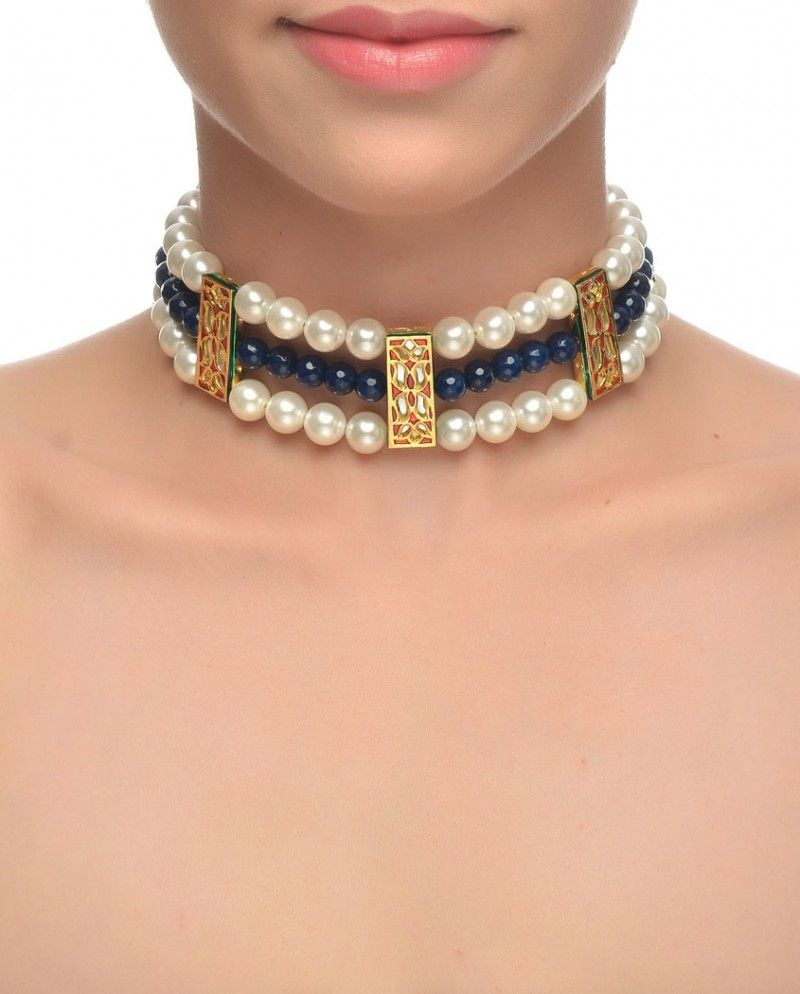 Nice choker concept. Will use different colors though