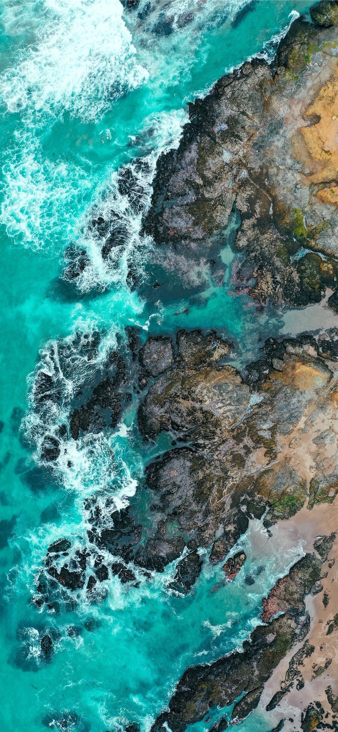 ocean photography iPhone X Wallpapers Обои