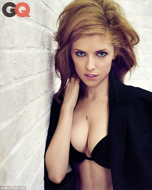 Anna Kendrick strips off for GQ magazine as she encourages