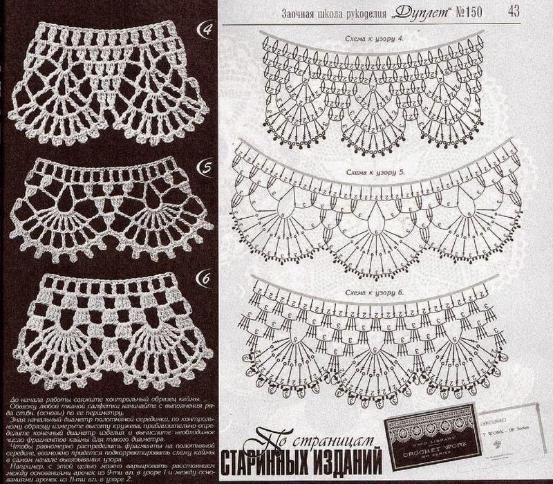 Barrados de Croche: Barrado redondo | Crochet | Pinterest | Tejido ...