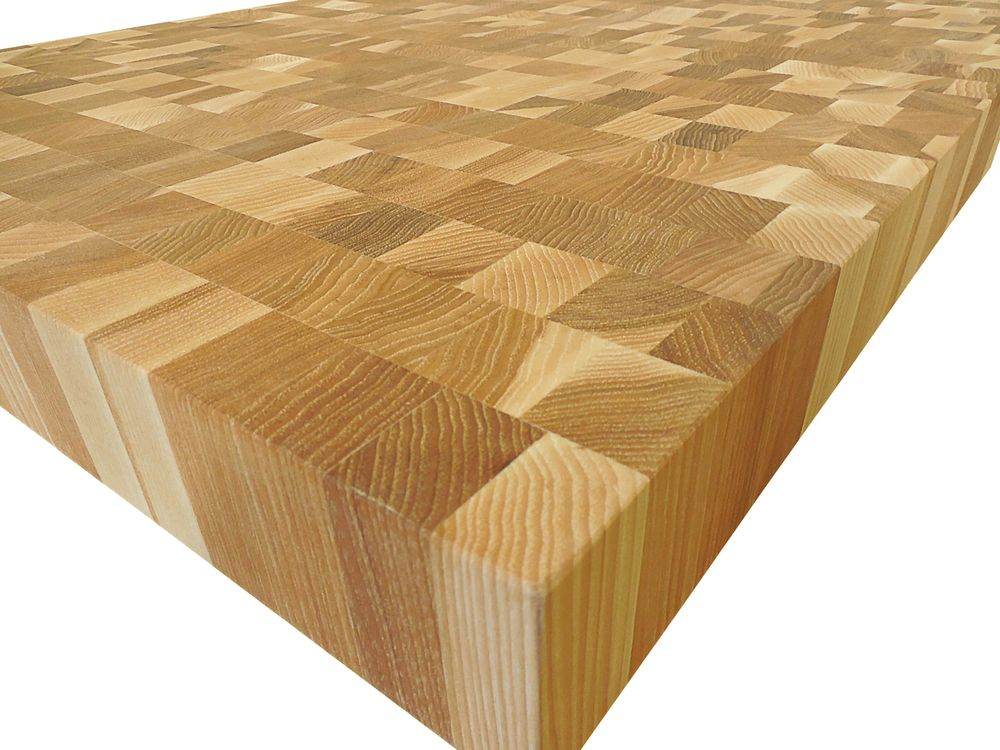 End Grain Hickory Butcher Block Countertop Customize Order
