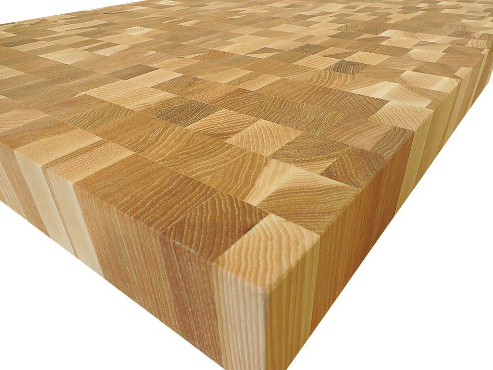Armani Fine Woodworking   End Grain Hickory Butcher Block Countertop    Customize