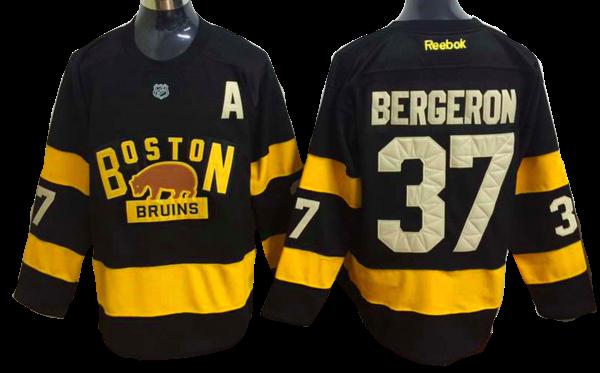 the latest 66c73 f7803 Boston Bruins Jersey - #37 Patrice Bergeron Black 2016 ...