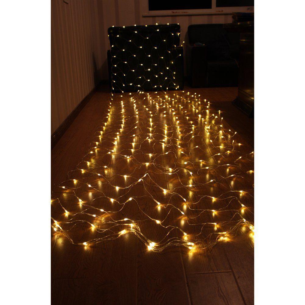 dopobo 45m x 15m 300 led net fairy lights led night light - Amazon Uk Outdoor Christmas Decorations