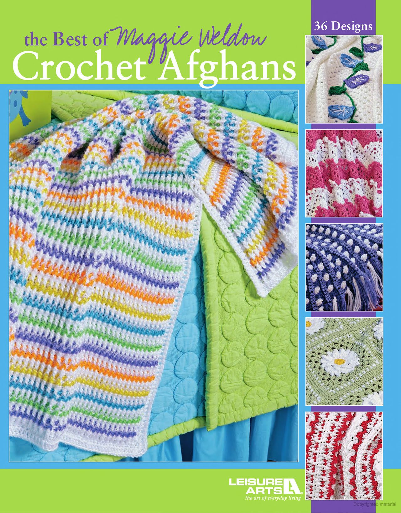 The Best of Maggie Weldon Crochet Afghans | Crochet | Pinterest