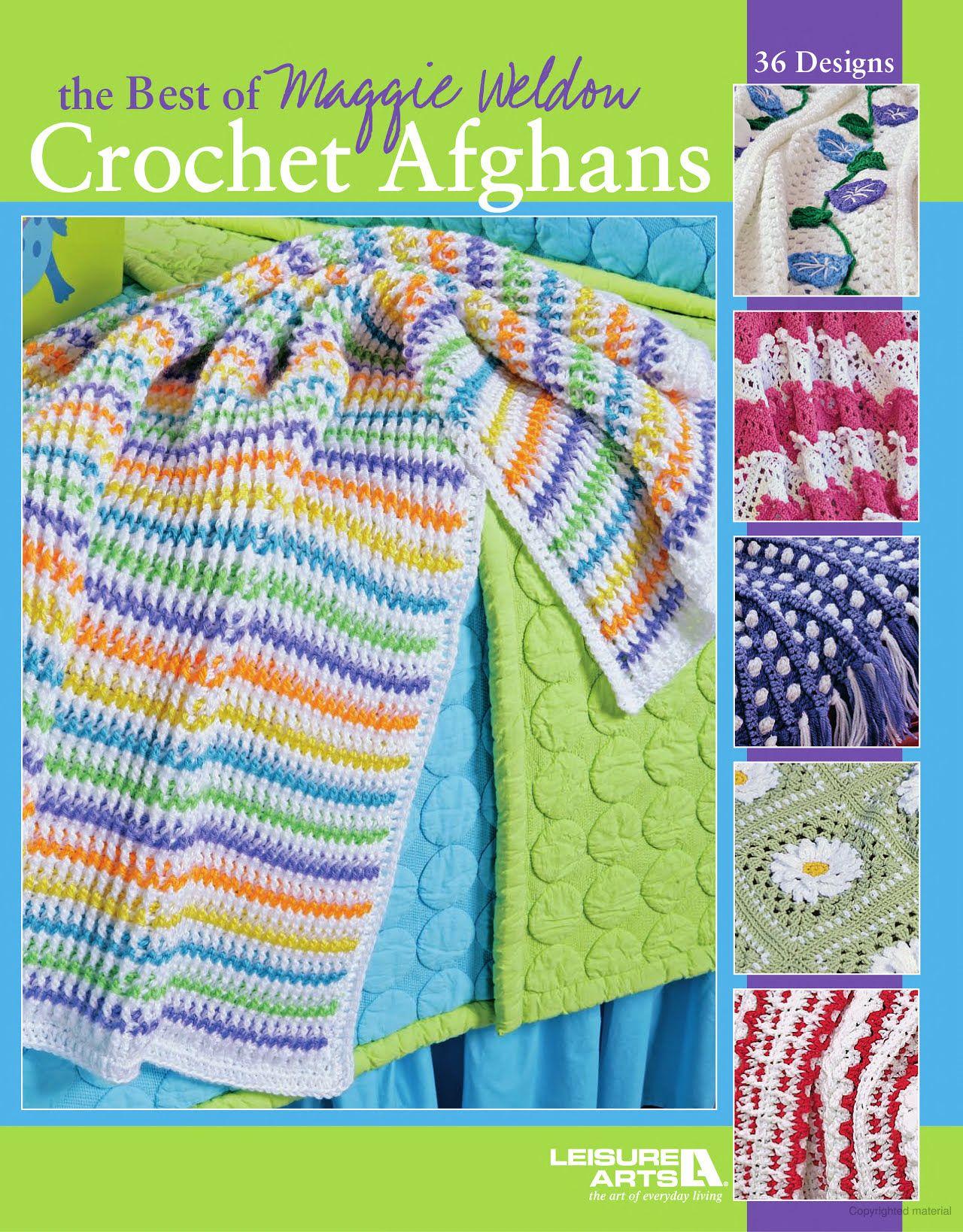 Famoso Ondulación Amor Patrón De Crochet Afghan Ilustración - Manta ...
