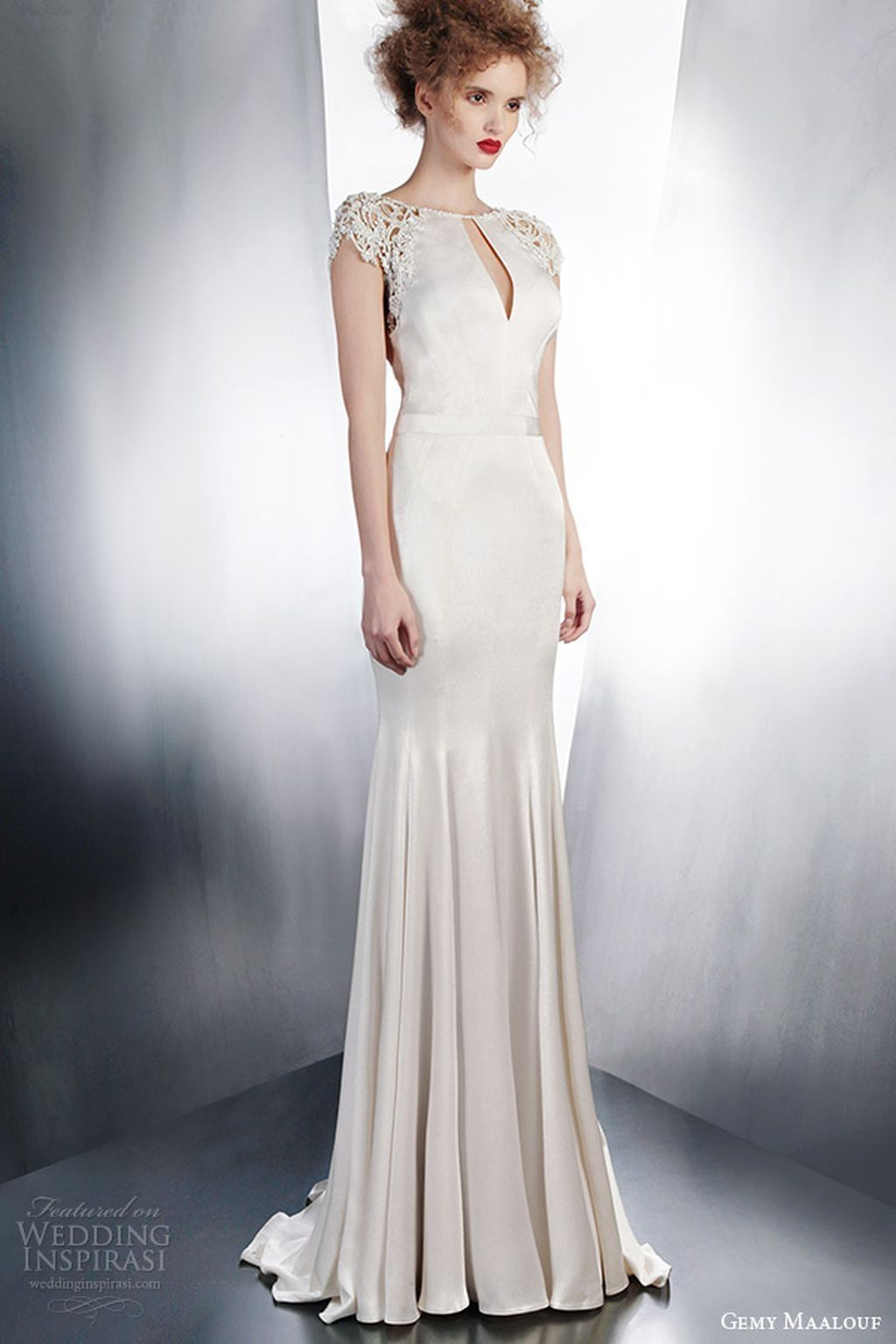 83 Simple but Romantic Non Traditional Wedding Dress Ideas ...
