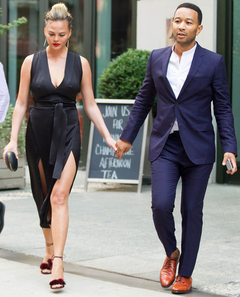 Chrissy Teigen and John Legend Look Stunning as They Hit the Skies in a Private…