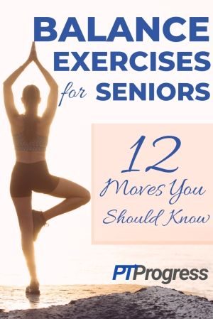 12 Balance Exercises for Seniors | PDF and Printable Pictures