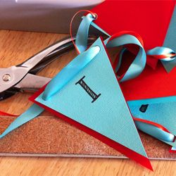 How to make a pennant Flag Banner with template!! | Winnie the ...