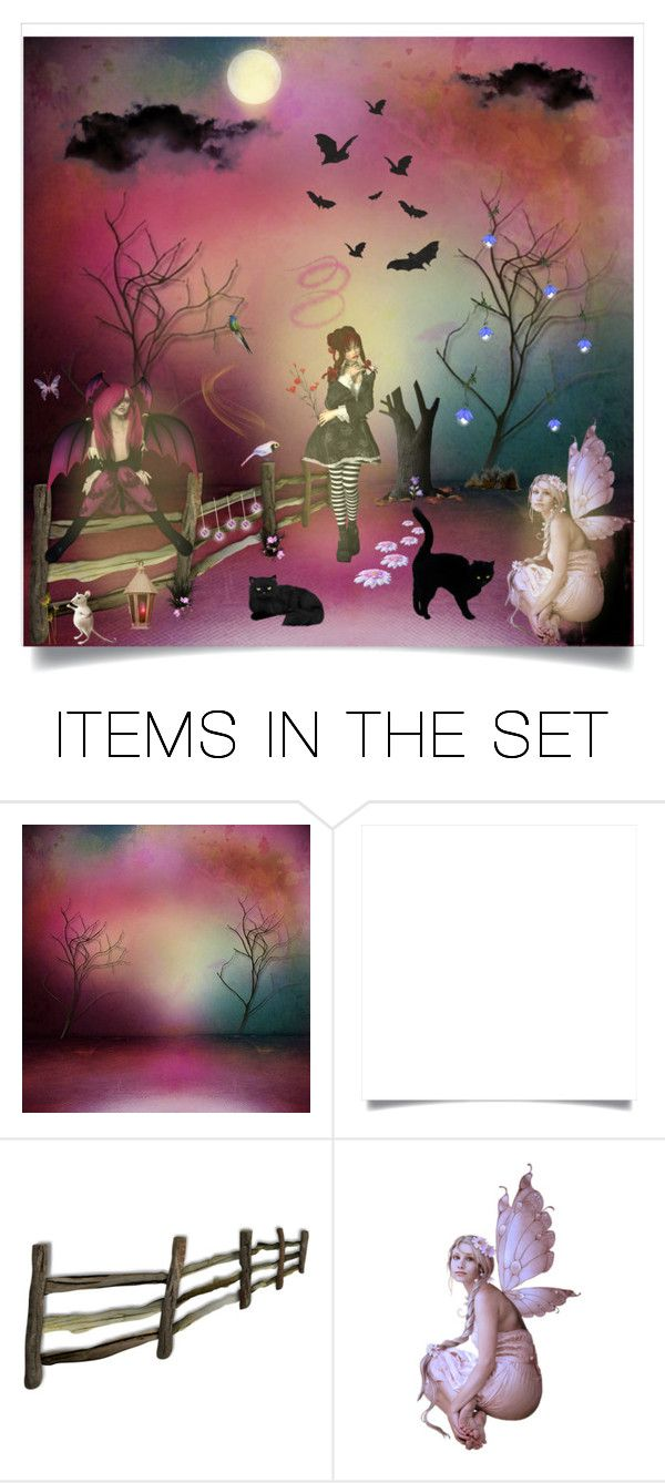 """""""Have a Fairy Good Weekend"""" by cindy-for-fashion ❤ liked on Polyvore featuring art"""