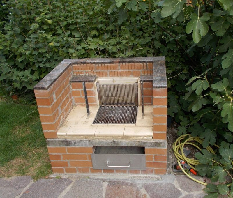 steingrill selber bauen anleitung in 5 einfachen schritten jardin crear garten. Black Bedroom Furniture Sets. Home Design Ideas