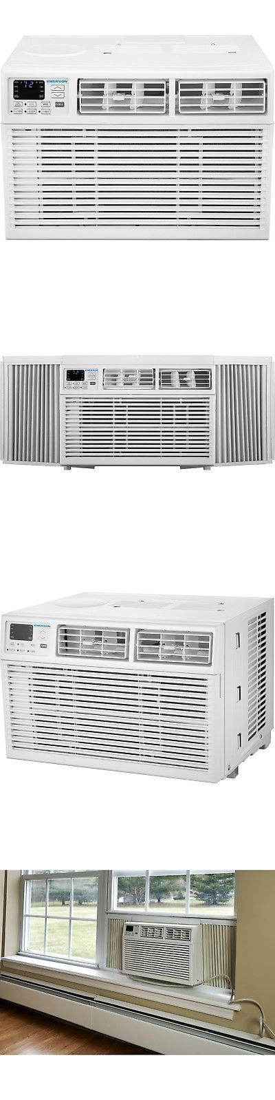 Central Air Conditioners 185108 Emerson Quiet Kool 10 000 Btu Window Mount Room Window Air Conditioner Room Air Conditioner Central Air Conditioners