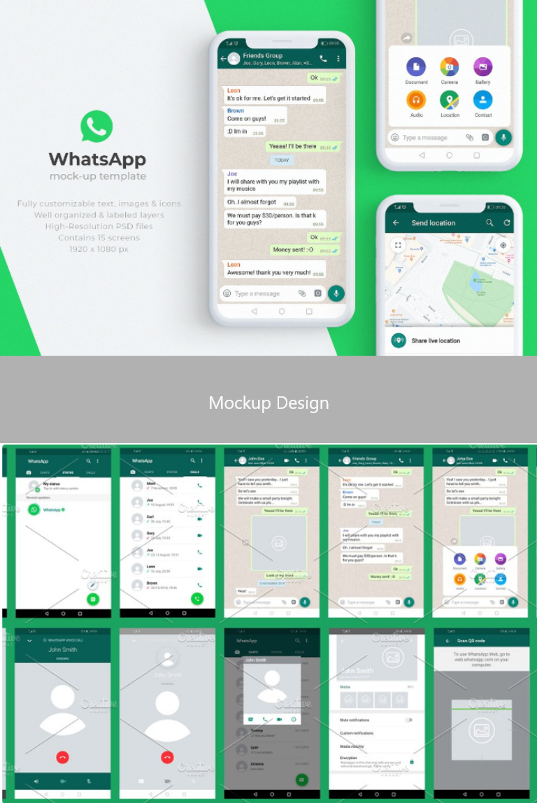 Find & download free graphic resources for whatsapp. Whatsapp Mock Up Template Mockup Templates Mockup Design