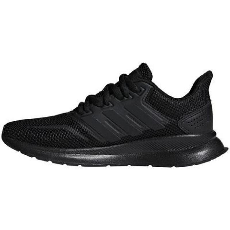 Buty Adidas Runfalcon Jr F36549 Czarne Girls Shoes Shoes Sneakers