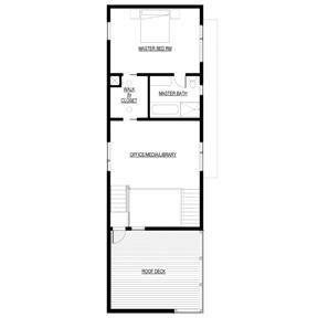 Free Modern Dream House Plan With Loft Floor Plan Suburban Loft Free House Plans House Plan With Loft Loft Floor Plans