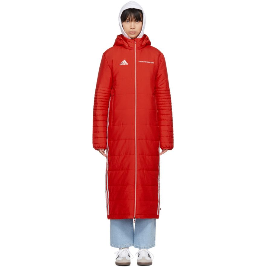 4e5311323 Gosha Rubchinskiy - Red adidas Originals Edition Wind Coat | SP20 ...