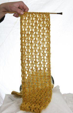 Photo of Auf der Suche nach einem Sommer Schal Muster? Der Tao-Seidenschal ist perfekt gestrickt!
