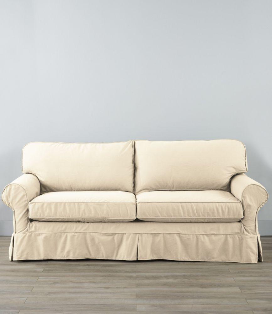 Pine Point Slipcovered Sleeper Sofa Sleeper Sofa Rustic Couch