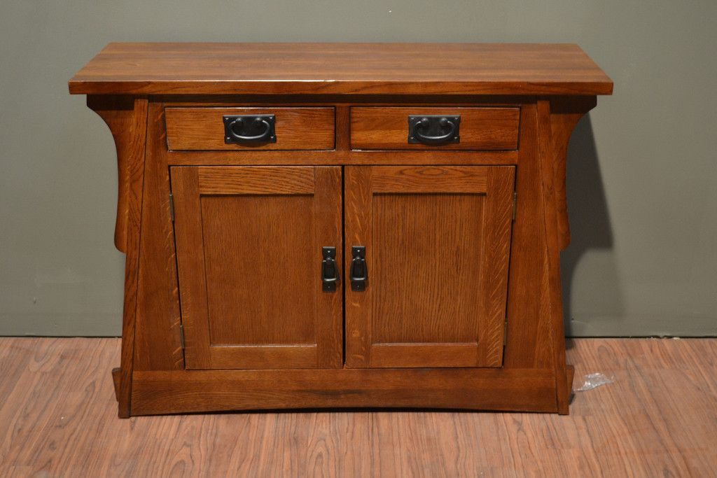 Merveilleux Arts And Crafts / Mission Crofter Style Entry Cabinet   English Oak    Crafters U0026 Weavers   2